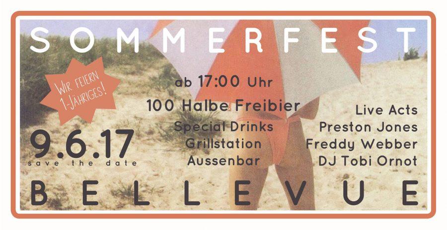 Sommerfest – 1 Jahr Café Bellevue
