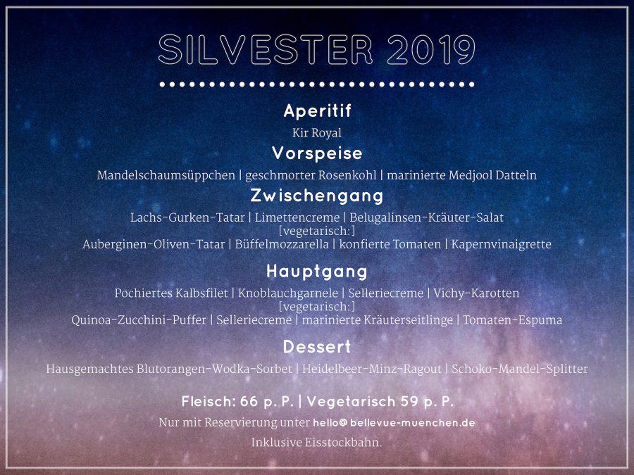 Silvester-Dinner 2019/20